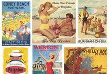 Travel Decals, Vintage Travel Posters / by Julie Ernst