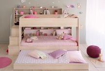 Boys' and Girls' Beds / We believe that beds should be attractive and comfortable to ensure a silent night for your little girl or boy. With many innovative space saving furniture ideas, accompanied by unique designs in single beds, double beds, bunk beds, mid-sleeper beds, and high-sleeper beds we really have just what you are looking for.
