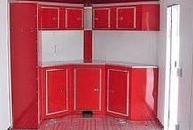 Custom Cabinets / Here's a sample of our custom cabinets. We build each set specifically to order. VISIT OUR WEBSITE to see what we have to offer: www.ocillaracingllc.com or call our Sales Manager at 229-402-6203.