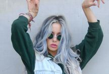 Gillian Zinser's style / Hippie/rock or her OWN style.