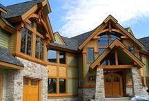 Внешняя отделка дома / варианты внешней отделки загородного дома