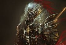 Fantasy Armor / NOT MY ART. A collection of interesting armor I find.