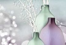 Purple and Green / Beautiful combinations of purple and green in interior, fashion and nature.