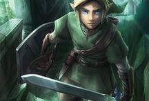 The Legend of Zelda / A collection of art from The Legend of Zelda