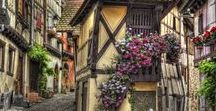 Tiny Towns and Picturesque Villages / Tiny Towns and Picturesque Villages - ideas for future travels