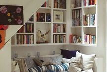 Organising Space / Interesting ideas for organising space. Understairs storages, reading rooms, etc