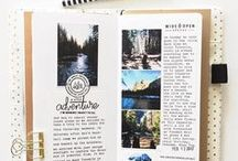 TRAVEL JOURNAL / Beautiful travel journals to inspire your own creations.