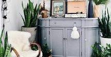 BOHO STYLE INTERIORS / Boho Style Interiors to relax in. #bohostyle #bohochic #boho