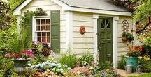 SHE SHED / Gorgeous she shed ideas for your fture space.