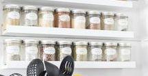 ORGANIZE KITCHEN / Tips, ideas and tutorials to organize your kitchen. #organize #kitchen