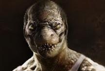Fantasy : Creature : Were-Crocodile : Male