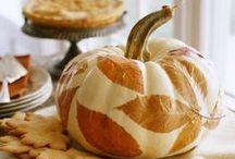 Fall - Autumn & Giving Thanks / September thru Thanksgiving / by Nanette