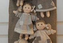 ruční práce / háčkování, pletení, šití, pletení z papíru
