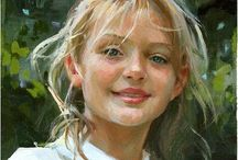 Paintings of children