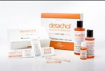 Detachol® / Make dressing quick and painless with alcohol-free Detachol liquid adhesive remover