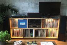 Media center 2015 / Furniture by me. For vinyls etc...