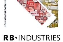 RB Industries Portfolio Collages