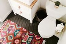 Tiny Home Trends / You don't need a little space to make a big impact. Decor in small space can be fun, vibrant, whimsical... whatever your personal style reflects. We love to customize rugs for this little homes and hope that by adding such a unique touch, the home is filled with more character then the owner ever imagined!