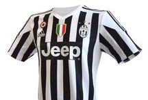 Juventus Gara e Allenamento 2015-16 / Divise ufficiali da gara della Juventus.