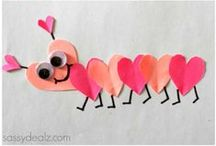 Valentine's Day DIY Ideas / From food to crafts to cards to games, Valentine's Day is important to your little ones. Find cute DIY ways to celebrate the holiday while keeping them involved. We love custom creations and crafting.... Valentine's Day is one of our favorites.