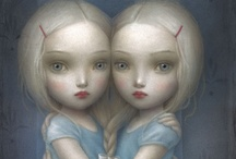 What a doll / Doll and doll adjacent art work, images and things.