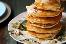 Brunch: Waffles, Pancakes, and other savory bread recipes / Brunch recipes for waffles, pancakes, dutch babies, and savory breads perfect for breakfasts.