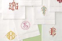 Typography, logo, monogram, paper