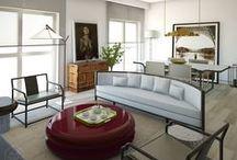 Akar in Beijing / Akar de Nissim's luxury lifestyle emphasised in the home decor of this Beijing house.