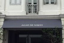 Akar in Singapore / Feel at home in our AKAR DE NISSIM's Galerie - Part of the high-end furniture collection and home accessories is displayed and waiting to welcome you