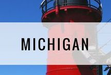 Travel | Michigan / Michigan trip ideas, attractions, and travel inspiration. Day trips, travel guides, and weekend getaways. South Haven, Mackinac Island, Detroit, Grand Rapids.