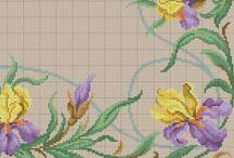 BORDADO: CHEIO, PONTO CRUZ, ETC / Lindos motivos de bordado
