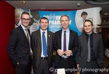 Scottish Labour Conference 2015 / Matt Barclay and Mark Feeney attended the Scottish Labour Conference on 7th March 2015 to promote Community Pharmacy Scotland health messages. Board Member Stephen Watkins also attended on the day.