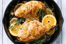 Mains: Chicken & Other Poultry / Main Dish recipes featuring chicken, duck, quail, etc.