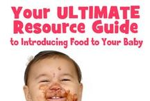 Introducing Solids to a Baby [First Foods] | Expert Advice on best to introduce baby food | / The board covers introducing first baby foods, baby food purees, understanding baby food allergies, baby puree recipes, homemade baby food, baby food stages, baby schedules, baby first foods chart, etc