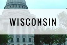 Travel | Wisconsin / Wisconsin trip ideas, attractions, and travel inspiration. Day trips, travel guides, and weekend getaways. Madison, Milwaukee, Door County.