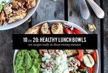 Healthy premade lunches / Healthy lunches you can make the night before for an easier morning.