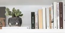 Shelf Styling | perfectly styled shelves / Perfectly styled shelves for inspiration! Bookcases, kitchen shelves and more
