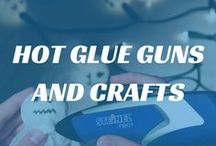 Hot Glue Guns and Crafts / We sell a selection of Glue Guns from #STEINEL that are perfect for #crafts. You can find our full range online: www.heamar.co.uk