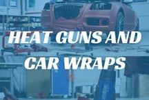 Heat Guns and Car Wraps / We sell a variety of Steinel Heat Guns which are perfect for a variety of tasks, including Car Wrapping. Here you can find a selection of our heat guns and our favourite #car wrap photos.