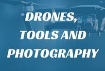 Drones, Tools and Drone Photography / Many of our clients are involved with the #engineering and maintenance of #drones. We sell a wide variety of #tools for these tasks which you can find on our website. On this board you can find some of our favourite #drone and dron #photography images, as well as the tools we sell that are suitable for building drones.