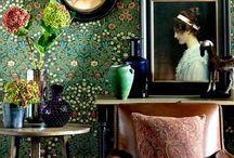 bohemian & folklore / colour, patterns, prints, floral