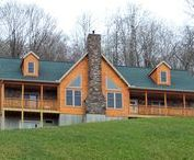 Tioga Log Series / Log Style Homes