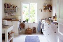 modern cottage style kitchen