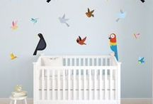 Wall Stickers for Kids / High quality vinyl wall stickers - perfect for children's bedrooms, playrooms and nursery.