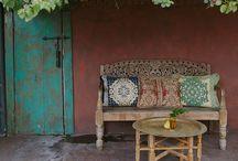 bohemian patio / Terrasideeen