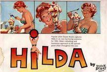 Hilda postcards