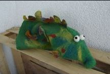 Sewing and Handfelted Toys