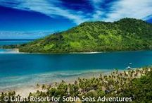 Lalati Island - Fiji / Gorgeous sights of Lalati Island