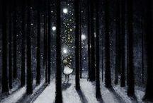 Märchen, Sagen und noch viel mehr / Illustrations of fairy tales and other myth stuff / by Nicole Loos
