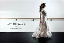 Campagne 2016 / [FR] Atelier Swan, création de robes de mariées sur mesure / [EN] Atelier Swan, creating custom wedding dress